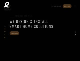 electricusgroup.co.uk screenshot