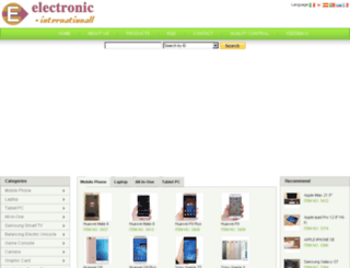 electronic-internationall.com screenshot