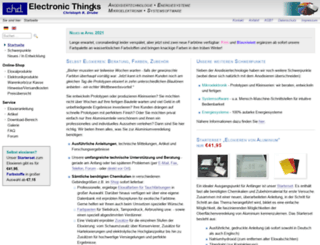 electronic-thingks.de screenshot