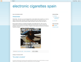 electroniccigarettes-spain.blogspot.com screenshot