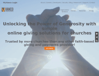 electronicdonations.com screenshot