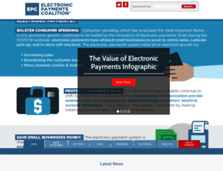 electronicpaymentscoalition.org screenshot