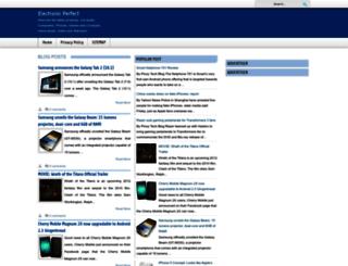 electronicperfect.blogspot.com screenshot