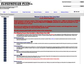 electronicplus.com screenshot