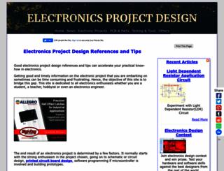 electronics-project-design.com screenshot