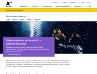 electronics.tkk.fi screenshot