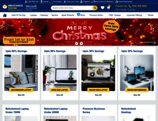 electronicsbazaar.com screenshot