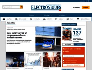electronique.biz screenshot