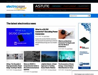 electropages.com screenshot