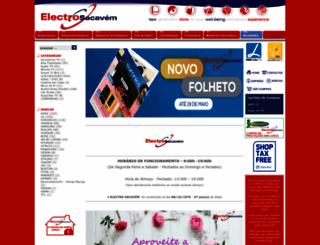 electrosacavem.com screenshot