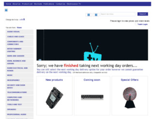 electrovision.co.uk screenshot