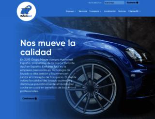 elefanteazul.com screenshot