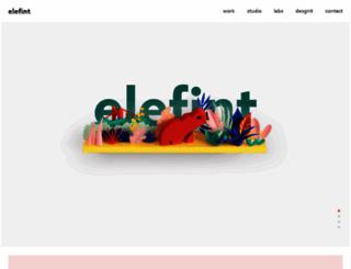 elefintdesigns.com screenshot