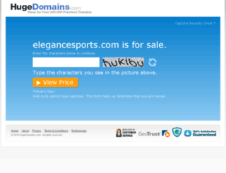 elegancesports.com screenshot