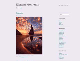 elegantmoments.wordpress.com screenshot
