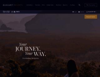 elegantresorts.co.uk screenshot