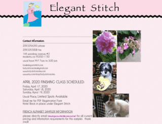 elegantstitch.com screenshot