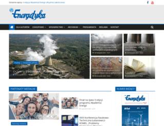 elektroenergetyka.pl screenshot