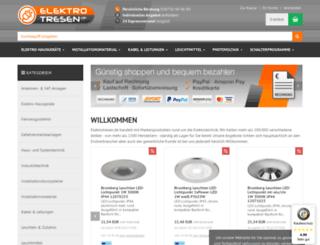 elektrotresen.de screenshot