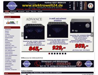 elektrowelt24.eu screenshot