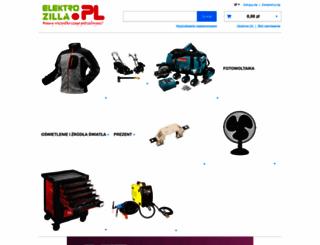 elektrozilla.pl screenshot