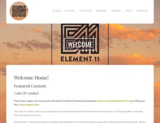 element11.org screenshot