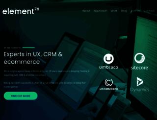 element78.co.uk screenshot