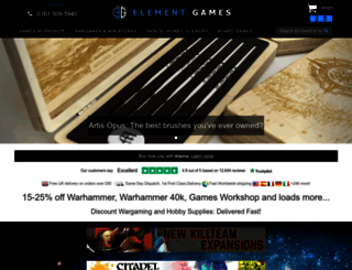 elementgames.co.uk screenshot