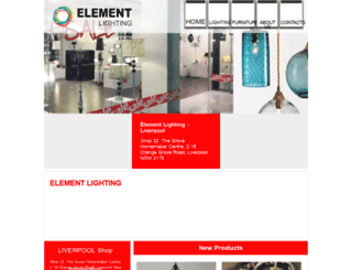 elementlighting.com.au screenshot