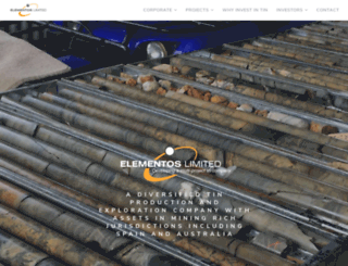 elementos.com.au screenshot