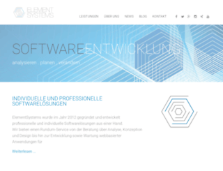 elementsystems.de screenshot