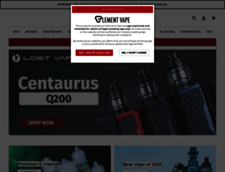 elementvape.com screenshot