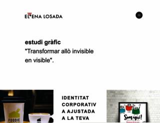 elenalosada.com screenshot