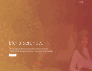 elenaseranova.com screenshot