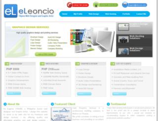 eleoncio.com screenshot