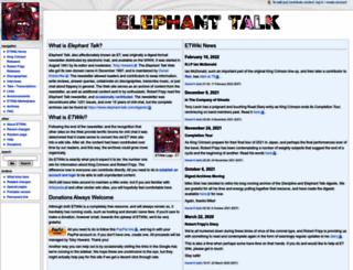 elephant-talk.com screenshot