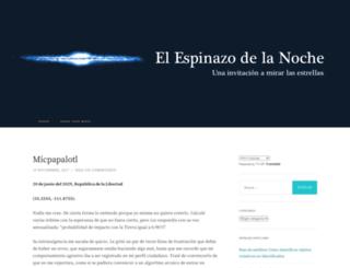 elespinazodelanoche.com screenshot