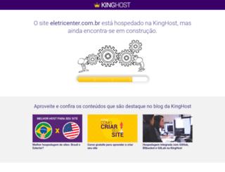 eletricenter.com.br screenshot