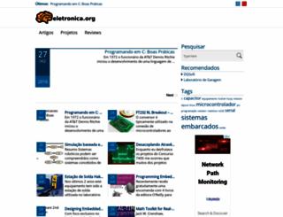 eletronica.org screenshot