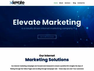 elevatemarketing.co.za screenshot