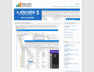 elevatesoft.com screenshot