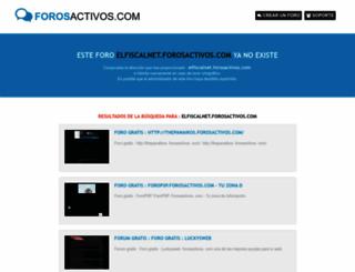 elfiscalnet.forosactivos.com screenshot