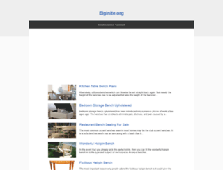 elginite.org screenshot