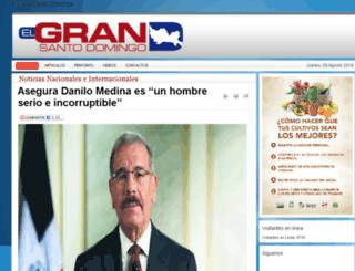 elgransantodomingo.org screenshot