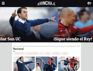 elhincha.cl screenshot