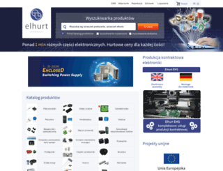 elhurt.com.pl screenshot