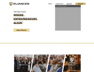 eliances.com screenshot