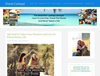 elianecarbajal.com screenshot