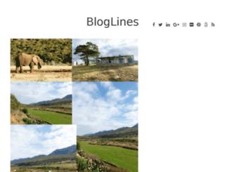 elianwrittings.bloglines.co.za screenshot