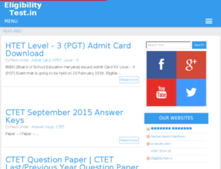 eligibilitytest.in screenshot